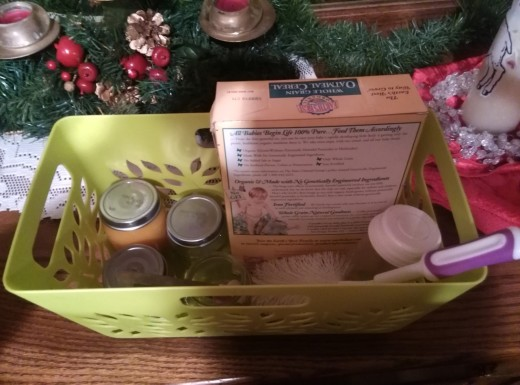 baby food basket